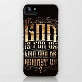 Above all things iPhone Case