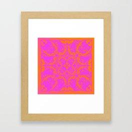Retro Graphic Framed Art Print