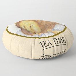 Lion Tea Time Floor Pillow