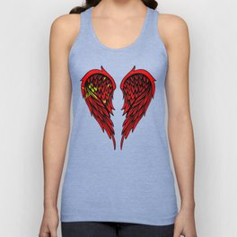 Chinese wings art Unisex Tank Top