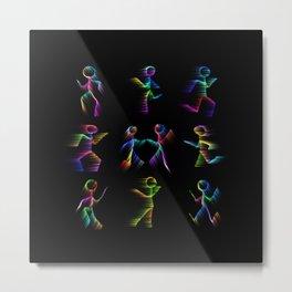 Dance Metal Print