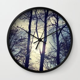 Your light will shine in the darkness Wall Clock