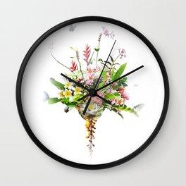 Abundance of Beauty - Minimalist Wall Clock