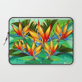 Bird of Paradise Flower Exotic Nature Laptop Sleeve
