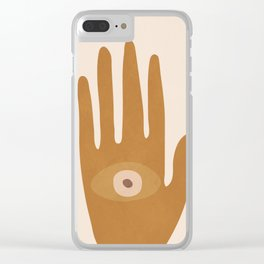 Hamsa Hand Clear iPhone Case