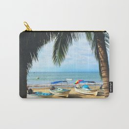 Sayulita Boats Carry-All Pouch