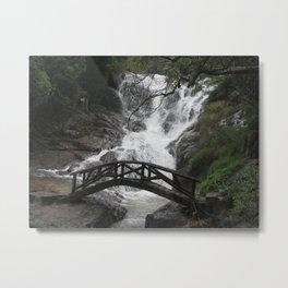BRIDGE ACROSS Metal Print