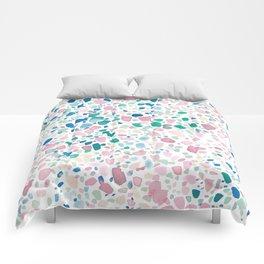 Magic Terrazzo Comforters