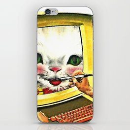 Draw Me Like One of Your French Girls iPhone Skin