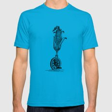 Unicorn Teal X-LARGE Mens Fitted Tee