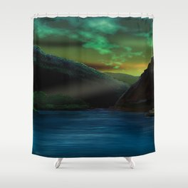 Romantic Rhine Shower Curtain