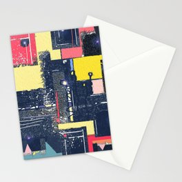 Keepin' it Lit . Contemporary Retro Urban Abstract Stationery Cards