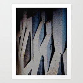 """Melodramatic Heights"" Art Print"