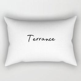 Terrance Calligraphy Rectangular Pillow
