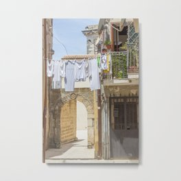 Laundry in Syracuse Metal Print