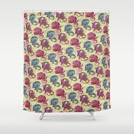 elderly waterhead fetus zombie_3 Shower Curtain