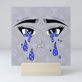 Designer Tears Mini Art Print