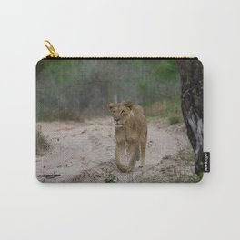 Female Lion at Tembe Elephant Park Carry-All Pouch