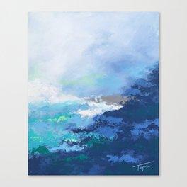 Caribbean Coast Canvas Print