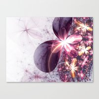 sparkles Canvas Prints featuring Sparkles by Keila Neokow