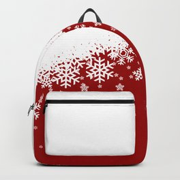Xmas Snow 01 Backpack