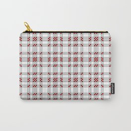 Line Ligné 2 black and red prince de galles Carry-All Pouch