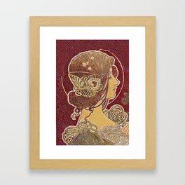 Le Femme Noveau Framed Art Print