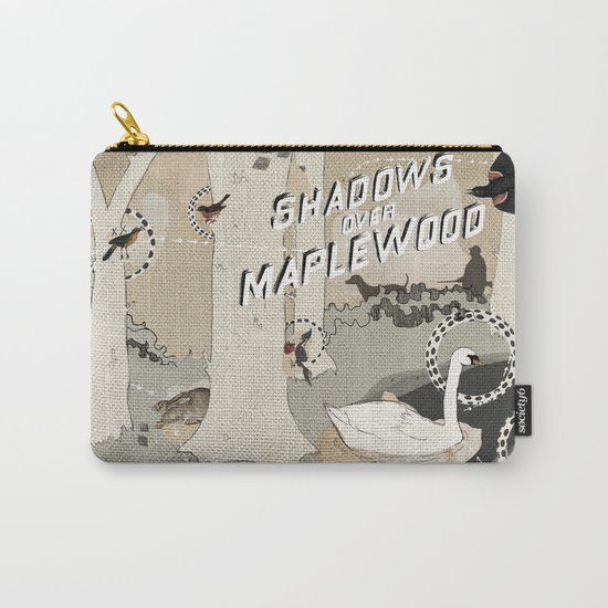 shadows over maplewood Carry-All Pouch