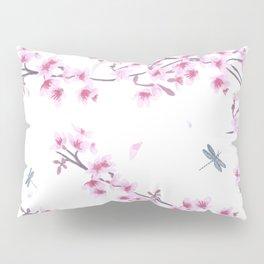 Pink Sakura Pillow Sham