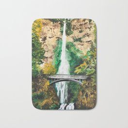 Multnomah Falls Bath Mat