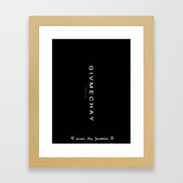Chai lover Framed Art Print