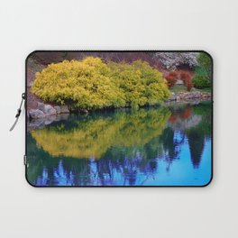 Pond at Ginter Laptop Sleeve