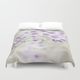 Darn Those Flowers Duvet Cover
