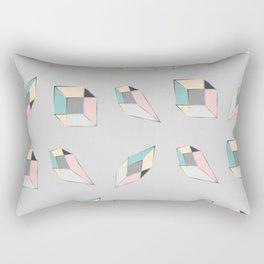 Geometric figures of colors Rectangular Pillow