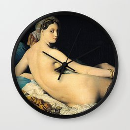 Jean Auguste Dominique Ingres, The Grand Odalisque Wall Clock