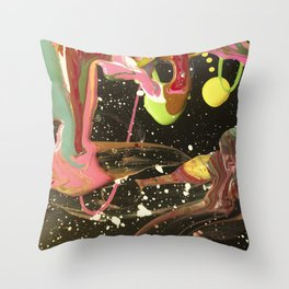 Steering Through The End Of Time Throw Pillow