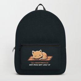 Not a Regular Domestic Cat Backpack