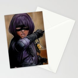 Hit Girl Stationery Cards