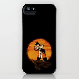 Origin of Goku iPhone Case