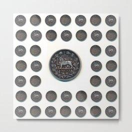 5000 Dinars Metal Print