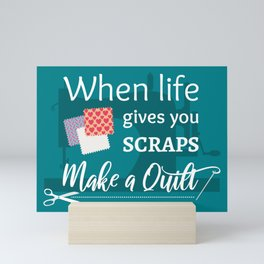 Make A Quilt Mini Art Print