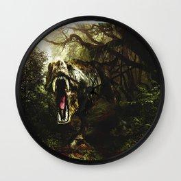 The Jurassic Era Wall Clock