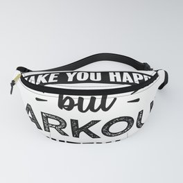 Parkour makes you happy Funny Gift Fanny Pack