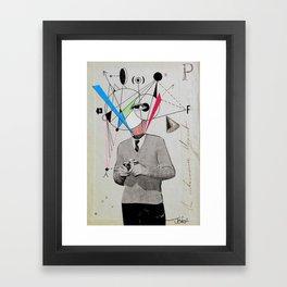 THE CAMERA ENTHUSIAST Framed Art Print