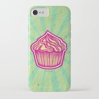 cupcake iPhone & iPod Cases featuring Cupcake by Meyyen