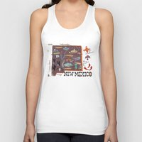mexico Tank Tops featuring New Mexico by Christiane Engel