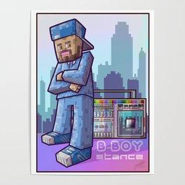 BBoy Stance Poster