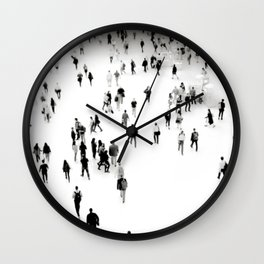 Connect the Dots at the Oculus New York Wall Clock