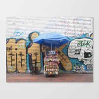 colombia Canvas Prints featuring Colombia, #2 by ohrutown