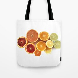 Citrus Rainbow Tote Bag